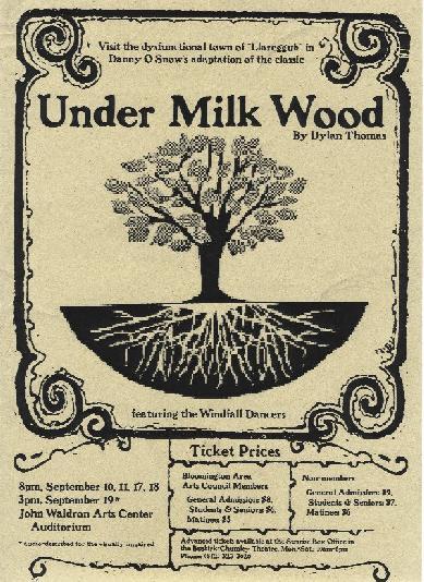 Bajo el bosque lácteo